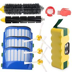 Vacuum Cleaner Parts Earnest Replacement Filter Side Brush For Shark Ion Rv700 Rv720 Rv750 Rv750c Rv755 Robot Vacuum Cleaner Filters Parts Accessories Easy And Simple To Handle