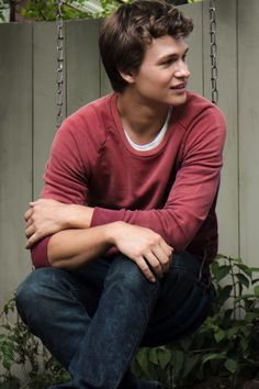 Ansel Elgort. He is adorable.