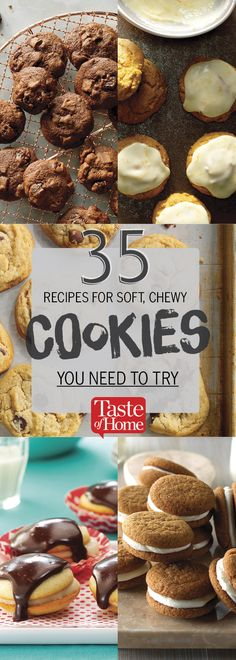 35 Recipes for Soft, Chewy Cookies You Need to Try