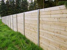 Prix d'une cloture de jardin en bois et beton