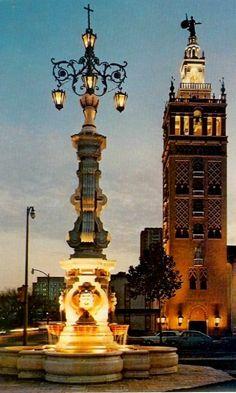 Giralda Tower and Seville Light on the Plaza -  Seville, Spain