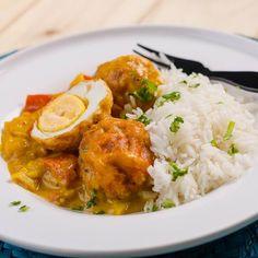 Egy finom Aranyszínű tojáscurry rizzsel ebédre vagy vacsorára? Aranyszínű tojáscurry rizzsel Receptek a Mindmegette.hu Recept gyűjteményében!