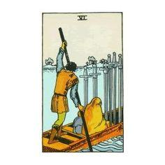Tarot Card: Six of Swords Tarot Gratis, Love Tarot Reading, Card Reading, Love Tarot Card, Tarot Significado, Love Oracle, Tarot Cards For Beginners, Free Tarot, Tarot Card Meanings