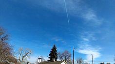 Lakewood Colorado - Airplane Spraying December 13 2016