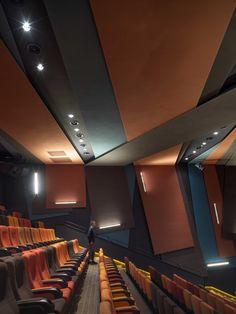 BFC BONA CINEMA - One Plus Partnership Cinema Theatre, Theatre Design, Conference Room Design, Wall Design, House Design, Interior Design Awards, Excellence Award, Paris Design, Hospitality Design