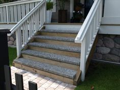 Sanderson Concrete - Stock & Custom precast stair treads & steps