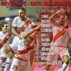 Once del @RVMOficial ante el @SevillaFC  #SFCvRVM