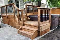 Top 80 Best Hot Tub Deck Ideas - Relaxing Backyard Designs - - Discover relaxing outdoor extensions of the home with the top 80 best hot tub deck ideas. Explore backyard designs made to enjoy year-round. Hot Tub Gazebo, Hot Tub Backyard, Backyard Pools, Pool Decks, Whirlpool Deck, Hot Tub Cover, Diy Vintage, Backyard Patio Designs, Pergola Patio