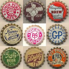 Capped Vintage Graphics – The Bottle Cap Man