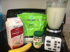 Juice Smoothie, Smoothie Drinks, Healthy Smoothies, Healthy Drinks, Healthy Meals, Healthy Recipes, Post Workout Breakfast, Weight Watcher Smoothies, Weight Watchers Points Plus