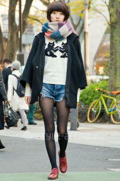 Manaka的風格 -TOKYO STREET STYLE | スタイルアリーナ style-arena.jp ahhhh!! So adorable.