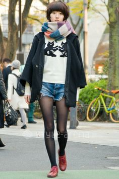 Manaka's STYLE-TOKYO STREET STYLE | style arena style-arena.jp