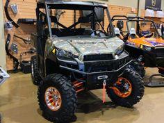 Orange Madness Positive Venoms with Bullet Edge Can Am Commander, Bone Stock, Polaris Ranger, Turbo S, Atv, Madness, Bullet, Monster Trucks, Wheels