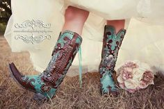 Boots! Someday I'll get married in cowboy boots!
