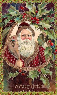 Saint Nicholas - Santa - Father Christmas - Sinterklaas. Merry Christmas. Repinned by www.mygrowingtraditions.com