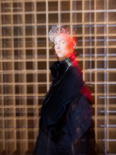 Clive Rundle in Gaschette Mag Fashion Design