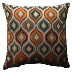 Found it at Wayfair - Flicker Jewel Polyester Throw Pillow
