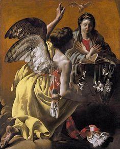 Hendrick ter Brugghen - The Annunciation