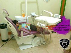 dental unit full elektrik ungu