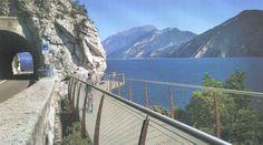 Un anello ciclabile di circa 140 chilometri che si svilupperà lungo le sponde del lago di Garda sui territori del Trentino, della Lombardia e del
