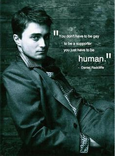 Daniel Radcliffe: my kind of guy <3