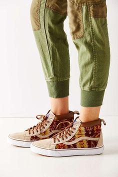 80eb1935fd6f4a Vans X Pendleton Sk8-Hi MTE Sneaker Tan Shoes