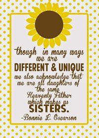 Relief Society Enrichment Visiting Teaching Sisterhood