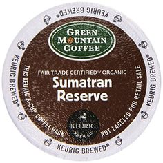 Green Mountain Coffee Fair Trade Organic Sumatran Reserve 24Count KCups For Keurig Brewers Pack of 2 >>> Want to know more, click on the image.