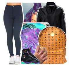 """""""No limit : Usher"""" by theyknowtyy ❤ liked on Polyvore featuring adidas, Casetify, MCM and Retrò"""