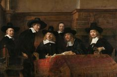 https://flic.kr/p/ZAfUzL | Rembrandt - Sampling Officials of the Amsterdam Drapers' Guild, known as The Syndics [1662] | [Rijksmuseum, Amsterdam - Oil on canvas, 191.5 x 279 cm]
