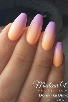 Ombre Nail Designs, Acrylic Nail Designs, Pink Nails, Gel Nails, Cute Nails, Pretty Nails, Best Acrylic Nails, Dream Nails, Types Of Nails