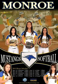 Softball 2013 Home Schedule