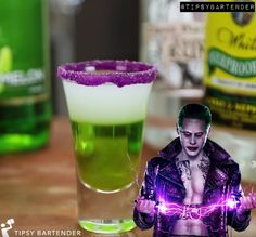 The Joker Shot - For more delicious recipes and drinks, visit us here: www.tipsybartender.com