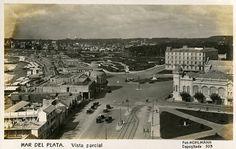Vista Parcial de Mar del Plata. Circa 1920