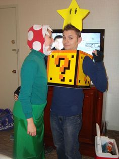 Group Costumes, Diy Costumes, Costume Ideas, Halloween Costumes, Flower Cart, Creative Things, Super Mario Bros, Halloween Ideas, Birthday Parties