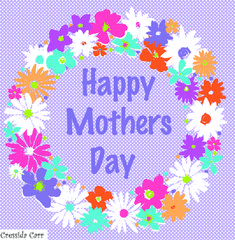 Designed by Cressida Carr Garden Painting, Custom Cards, Happy Mothers Day, Portfolio Design, Textile Design, Design Projects, Textiles, Paintings, Artist