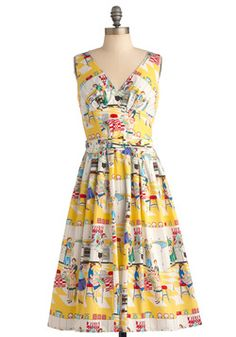 Bygone Days Dress in Bake Off, #ModCloth  May 2012 [$164.99]