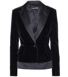 Buy it now. Velvet Blazer. Black Velvet Blazer By Tom Ford , americana, americana, blazer, levita, levita, americanas, americanabásica, blezer, blazerdepunto, frock-coat. Black TOM FORD  blazer  for woman.