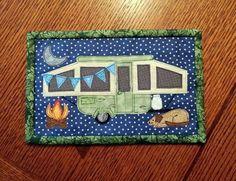 Camping Memories Mug Rug - Camper Quilt | Craftsy