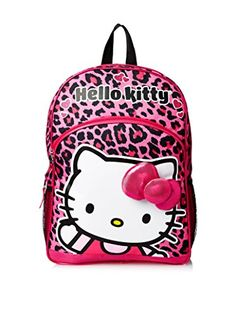 d1bf7b9417 FAB Starpoint Girls  Hello Kitty Leopard 16 Inch Backpack  gt  gt  gt