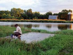 Fishing Nebraska Farm Pond
