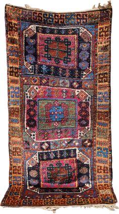 East Anatolia, symmetrical knot on wool, XIXth century