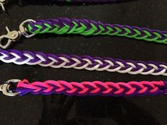 How to make paracord reins - split and loop (no buckle) 2 colours - YouTube