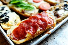 French Bread Pizzas by Ree Drummond / The Pioneer Woman Cooks