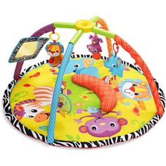 6f1ff8dca Bright Starts 2-in-1 Silly Sunburst Activity Gym   Saucer