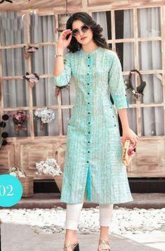 New Image : Salwar designs Salwar Neck Designs, Kurta Neck Design, Kurta Designs Women, Dress Neck Designs, Long Kurta Designs, Latest Kurti Designs, Long Dress Design, Churidar Designs, Seoul Fashion