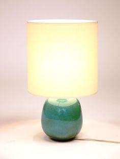 Ruelland-lampe-ceramique-bleu-celadon-face