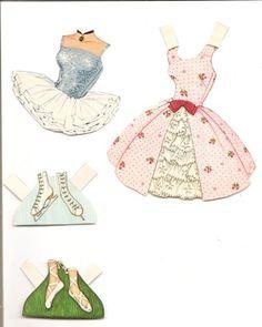 (⑅ ॣ•͈ᴗ•͈ ॣ)♡                                                            ✄Midge Paper Doll