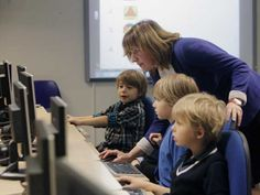 Advocating for computer science education (Image credit: REUTERS/Ints Kalnins)