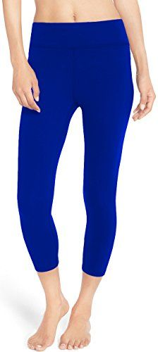 LMB Yoga Pants  Capri Leggings Royal BlueMedium >>> Read more reviews of the product by visiting the link on the image.(This is an Amazon affiliate link and I receive a commission for the sales)